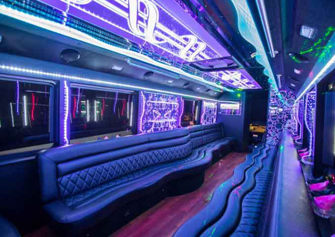 21-39 Passenger Party Buses Oakland