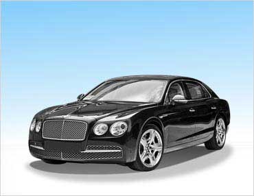 Bentley Flying Spur Black Oakland