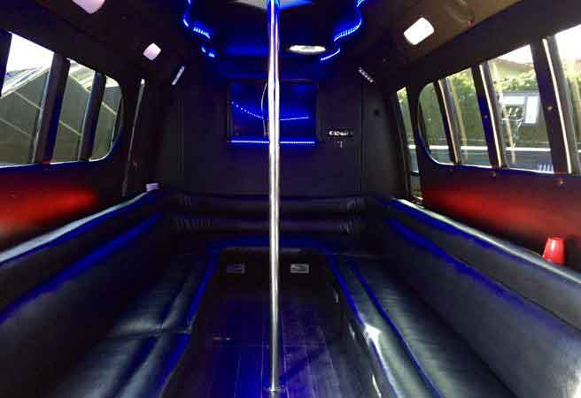 40-50 Passenger Party Buses Oakland