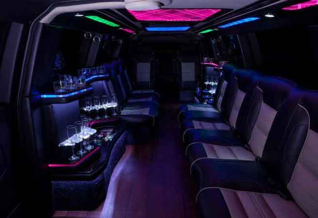 Range Rover Stretch Limo Oakland
