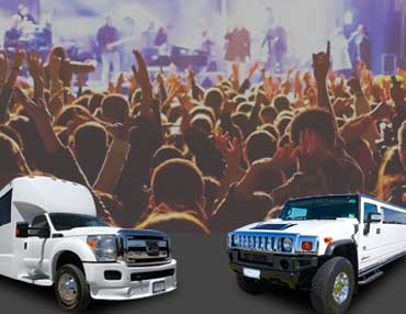Limousine and Bus rentals for Sports Events Oakland