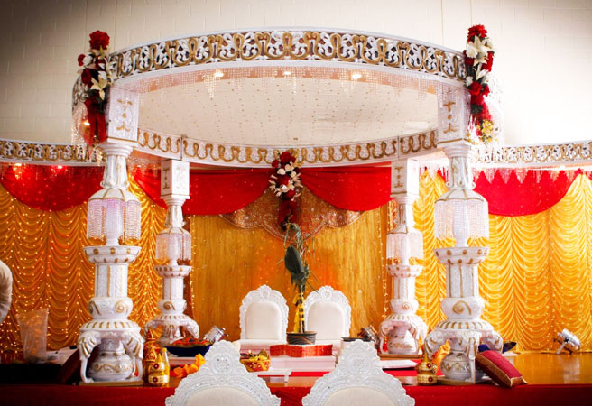 mandap stage for indian weddings bay area mandap stage for