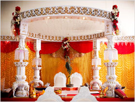 Mandap/Stage for Indian Weddings in Oakland