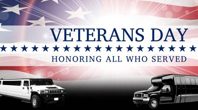 veterans-day-celebrations-limo-service-oakland